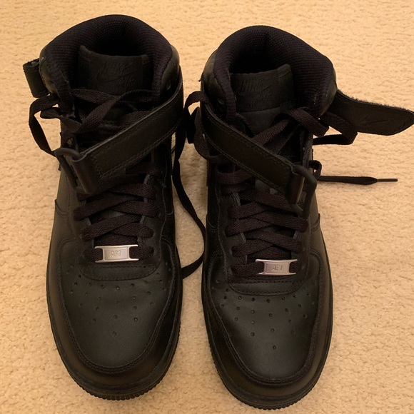 Nike Shoes - Women's AF1 high top all black
